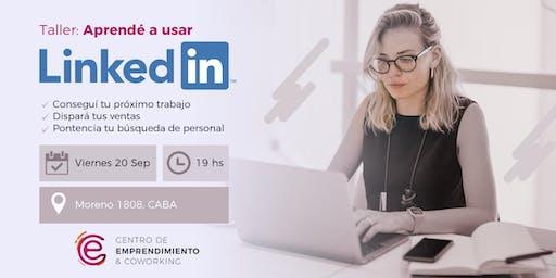 Taller: Aprendé a usar LinkedIN y conseguí tu próximo trabajo