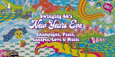 Swinging 60's New Years Eve at Memsahib Cheltenham - Champagne & Canapés