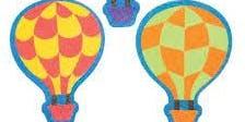 Hot Air Balloon Magnets @ Chingford Library