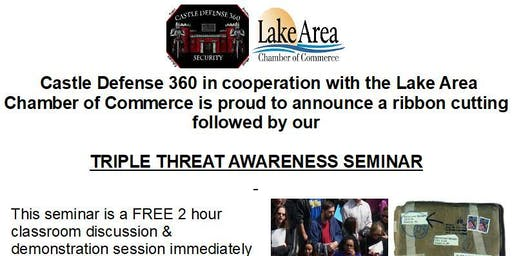 Ribbon Cutting & Triple Threat Awareness Seminar