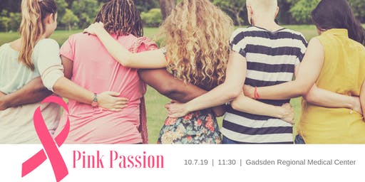 Pink Passion: A Breast Cancer Awareness Lunch & Learn
