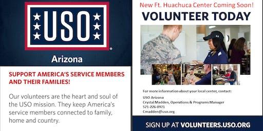 Fort Huachuca Prospective Volunteer Orientation October