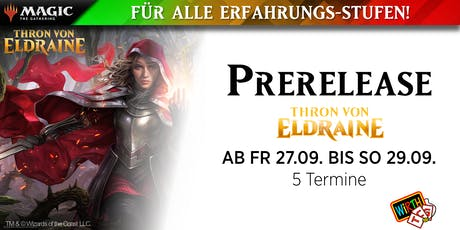 Prerelease -  Thron von Eldraine (5/5) Tickets