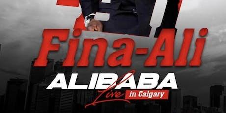 Alibaba (Fina-Ali) Live In Calgary  tickets