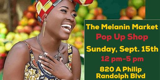 The Melanin Market Pop Up Shop