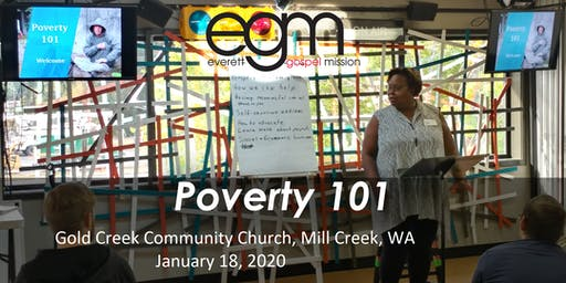 EGM Poverty 101 @ Gold Creek Community Church