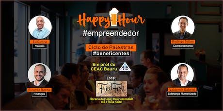 HAPPY HOUR EMPREENDEDOR | BAURU ingressos