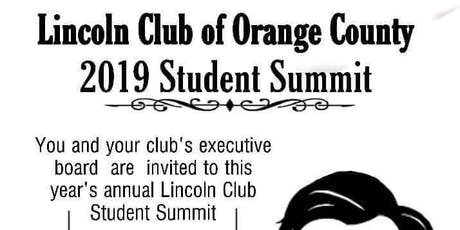 Lincoln Club Institute Student Leadership Summit tickets