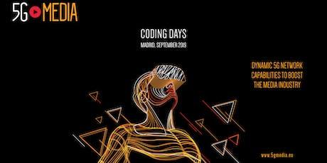 5G-MEDIA Coding Days entradas