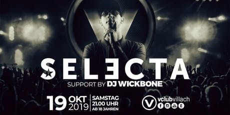 DJ Selecta Live im V-Club Villach Tickets