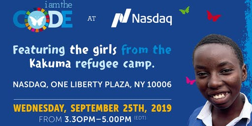 Young Refugees Girls from the Kakuma Refugee Camp to be featured at Nasdaq.