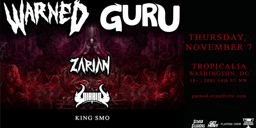 WARNED + GURU featuring Zarian & Diablo