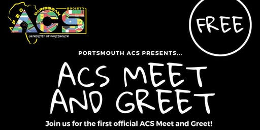 ACS FRESHERS MEET AND GREET