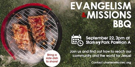 Evangelism & Missions BBQ