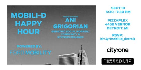 Mobili-D Happy Hour (Powered by Ford Mobility): Ani Grigorian tickets