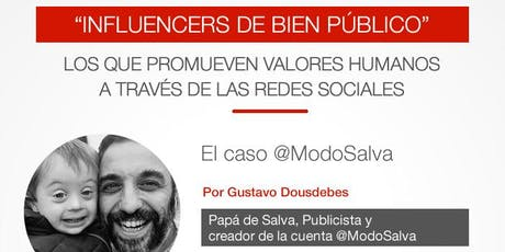 """""""Influencers de Bien Público"""" entradas"""