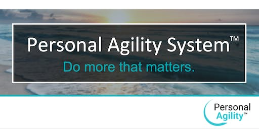 Personal Agility Recognized Practitioner Online Workshop