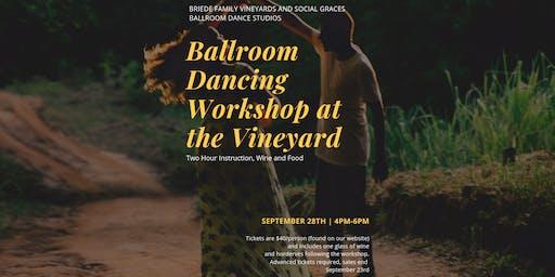 Ballroom Dancing at the Vineyard