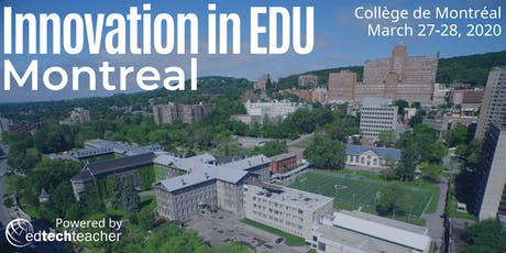 Innovation in Education Conference - Montreal 2020 billets