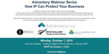 Advantary Webinar Series - How IP Can Protect Your Business tickets