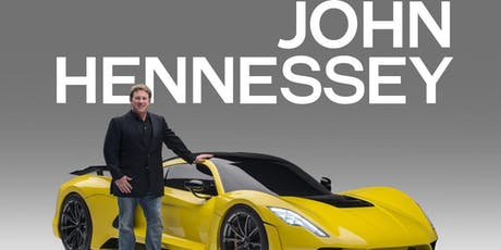 Downtown Rotary Welcomes John Hennessey of Hennessey Performance, Creator of the 301mph Hennessey Venom F5 tickets
