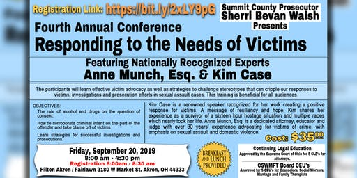 Fourth Annual Responding to the Needs of Victims Conference