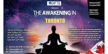 GIFTE The Awakening Toronto tickets