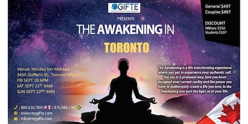 GIFTE The Awakening Toronto