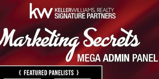 Marketing Secrets Admin Panel facilitated by Amanda Jones