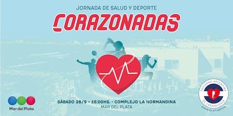 CORAZONADAS • Jornada de Salud y Deporte entradas