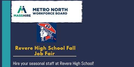 Revere High School Fall Job Fair tickets