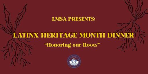 LMSA UC Davis Annual Heritage Month Dinner