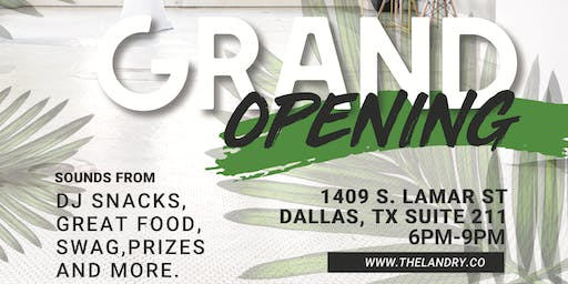 The Landry Collective Grand Opening