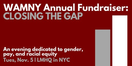 WAMNY Annual Fundraiser: Closing the Gap tickets