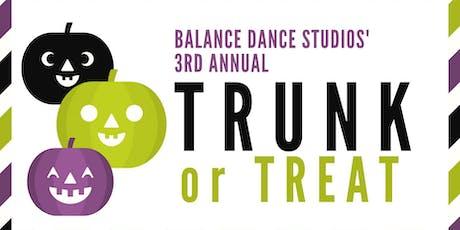 Balance Dance Studios' 3rd Annual Trunk or Treat! tickets
