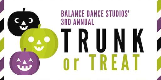Balance Dance Studios' 3rd Annual Trunk or Treat!