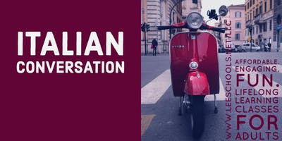 Conversational Italian @Lee County Public Education Center 10/10-11/21