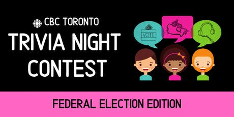 CBC Toronto Trivia Night tickets