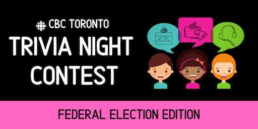 CBC Toronto Trivia Night
