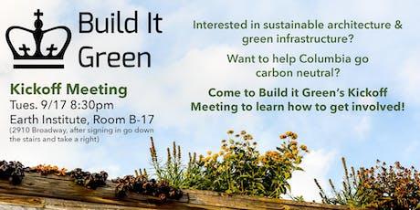 Build it Green Kickoff Meeting tickets