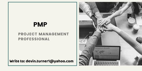 PMP Certification Course in Saint John, NB tickets