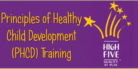 HIGH FIVE - Principles of Healthy Child Development tickets