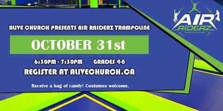 Alive Church Presents Air Riderz Trampoline tickets