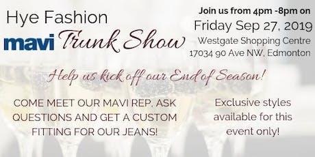VIP Mavi Jeans Trunk Show  tickets