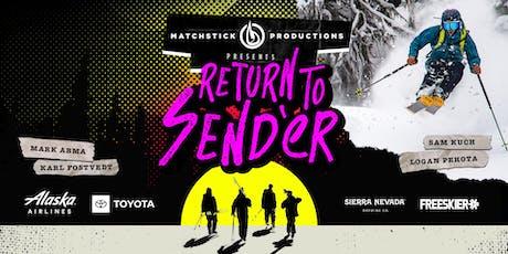 Return to Send'er: Ski Movie Premiere tickets