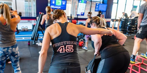 Train | F45 Training x lululemon Boulder Community Class