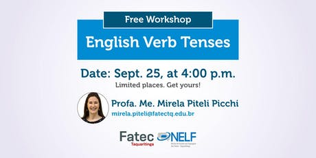 Workshop: English Verb Tenses ingressos