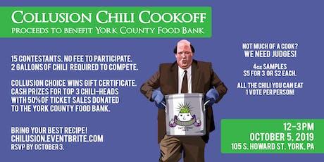 Collusion's Inaugural Chili Cookoff '19 tickets