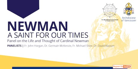 Newman: A Saint for Our Times tickets