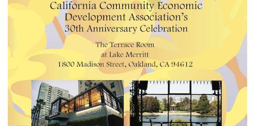 California Community Economic Development Association 30th Anniversary